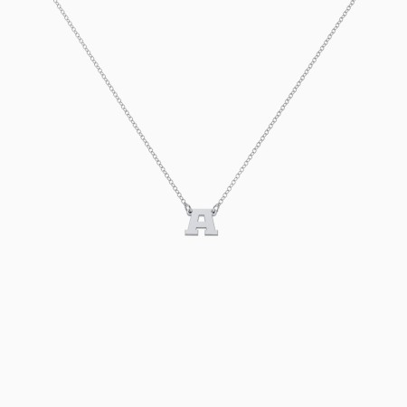 Jimin inspired initial necklace